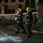 Ciudad Real: Revienta una tubería en la calle Bernardo Balbuena