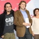 Agustín Espinosa y Mateo Plaza entregan sus avales en la sede del PSOE
