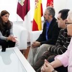 Ciudad Real: Rosa Romero muestra su apoyo a Autrade