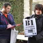"""El Colectivo Estudiantil de Ciudad Real reclama el B1 """"gratuito para todos"""""""