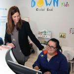 La alcaldesa inaugura las nuevas instalaciones de la Asociación de Síndrome de Down Caminar de Ciudad Real