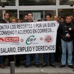 Medio centenar de carteros de Ciudad Real partiparán en la manifestación en Madrid de los trabajadores de Correos