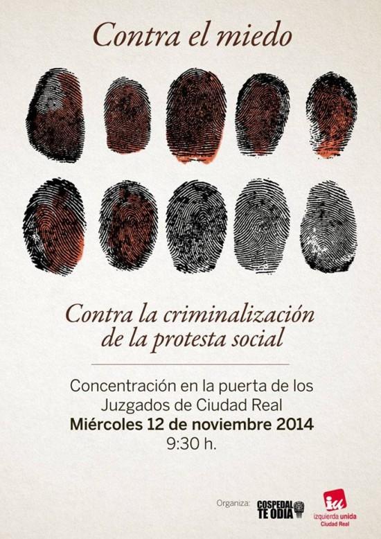 criminalizacion protesta