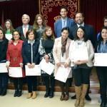 Carrión de Calatrava: Entrega de diplomas del Curso de Creación de Empresas