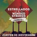 Ciudad Real: Sala Jarana y Vega Records traen a Estrellados & Winged String en directo