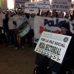 Puertollano: La Policía Local no da tregua en sus ensordecedoras protestas y la alcaldesa advierte de que legalmente no puede tocar salarios