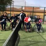El campeonato de pádel de Argamasilla de Calatrava en silla de ruedas permitió disfrutar a jugadores y aficionados de una gran jornada