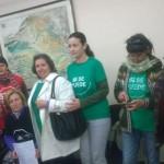 La PAH reclama en la sucursal de Banco CCM de Torralba el desbloqueo de la reestructuración de una hipoteca
