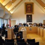 El equipo de gobierno rechaza la moción de la pasarela porque «no es el momento oportuno»