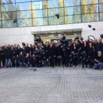 """Periodistas de la televisión regional secundan en toda Castilla-La Mancha las protestas contra la """"manipulación informativa"""""""