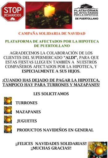 CARTEL CAMPAÑA NAVIDAD 2014