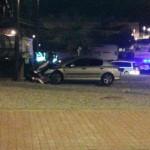 Puertollano: Un vehículo colisiona contra la planta de Fertiberia de la Avenida de Andalucía