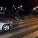 Paso de peatones donde han ocurrido los hechos