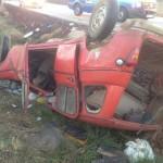 Fallece un hombre de 54 años y resulta herido grave su hijo de 29 tras un choque frontal en Brazatortas