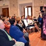 Cerca de un centenar de personas acuden al acto contra la violencia de género de Carrión, con la copla como protagonista