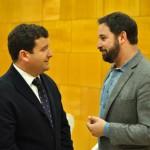 Santiago Abascal arropa a la recién constituida comisión gestora de Vox en Ciudad Real
