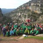 El Club Pozo Norte recorrió el paraje de La Cimbarra en el parque de Despeñaperros