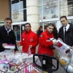 Moteros Solidarios de Ciudad Real entrega a Cruz Roja más de 500 artículos