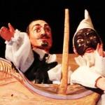 Teatro de títeres con música en vivo en La Sensación