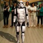 Star Wars Ciudad Real: Los trabajadores de E.Leclerc le dan estopa al lado oscuro