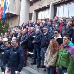 Puertollano: La alcaldesa apoya a los trabajadores de Elcogas y Encasur que se encierran en el Ayuntamiento