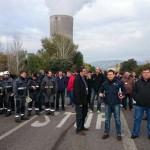Puertollano: Los trabajadores de Elcogas celebran Santa Bárbara encerrados