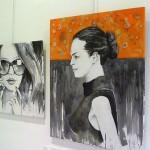 Jesús Arévalo expone su «Pintura ecléctica» en Cheeky Designs