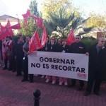 Movilizaciones de las trabajadoras de la limpieza del Hospital y de los centros de salud de la GAI de Manzanares