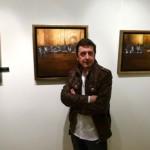 Antonio Doctor pinta la atmósfera nocturna de Manzanares