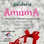 Este sábado abre sus puertas el mercadillo de AMUMA
