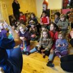 Mercadillo de Navidad en el jardín de infancia waldorf Madreselva de Ciudad Real