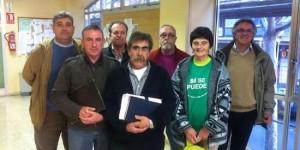 Representantes de diversas PAH de la provincia de Ciudad Real