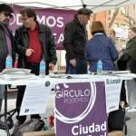 Podemos acusa a Rosa Romero de obstaculizar la instalaciónde una mesa informativa en el centro de Ciudad Real