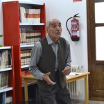 Saturnino García ofrece un recital poético a los niños de Almagro y Puertollano