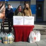 La Hermandad del Cristo de la Piedad recoge alimentos y productos de higiene para las personas necesitadas