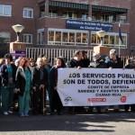 Protesta en la Residencia Gregorio Marañón de Ciudad Real ante las «penosas» condiciones laborales que soportan los trabajadores