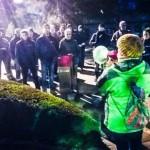 Izquierda Unida de Ciudad Real visita a los trabajadores de Elcogas encerrados
