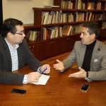 El alcalde de Terrinches trata con el director general de Cultura el impulso en la divulgación del patrimonio cultural de la localidad