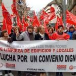 Defenderán el convenio «con unas y dientes»: Los trabajadores de limpieza no aceptan recortes salariales ni el menoscabo de sus derechos