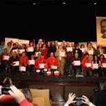 Tres voluntarias de la asamblea valdepeñera de Cruz Roja son homenajeadas en el Día Internacional del Voluntariado