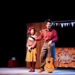 """""""Giuseppe y Peppina"""" arrancan las sonrisas de los más pequeños en el Teatro Ayala de Daimiel"""