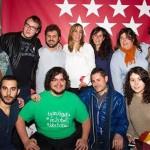 La candidatura de Jorge Fernández (IU) arropa a Tania Sánchez como aspirante a presidenta de la Comunidad de Madrid