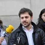 Jorge Fernández se marca el reto de acabar con «las lógicas del pasado» en la presentación de su candidatura de renovación para Izquierda Unida