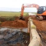 Manzanares: Comienza la construcción del nuevo puente en el camino de Daimiel