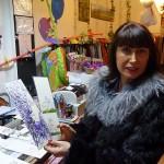 A la venta en la tienda de Afanion: Las pequeñas obras de arte solidarias de María Teresa Sánchez
