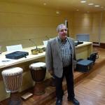 Taller de musicoterapia en la Biblioteca de Ciudad Real