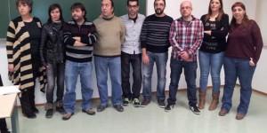 La cúpula de Podemos Puertollano en 2015 (archivo)