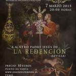 Alcázar de San Juan: Ya están a la venta las entradas del VII Certamen Nacional de Bandas Jesús del Perdón