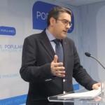 """Rodríguez (PP): """"Un pacto entre el PSOE y Podemos sería terrorífico para la región»"""