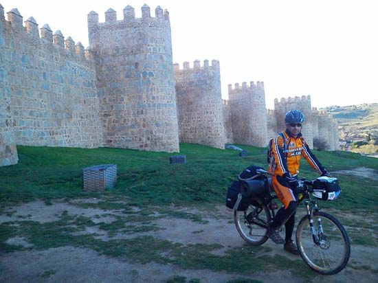 Llegada a Ávila
